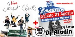 Deejay Xmasters-Street Clerks e Dj Aladyn Riccione