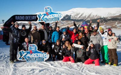 DEEJAY Xmasters Winter Tour sbanca al centro Italia  Night Rail Shooting, musica e divertimento per una tappa unica!