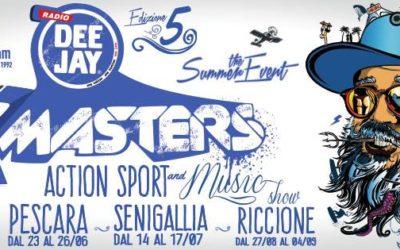Al via DeeJay XMasters Pescara.. dal 23 al 26 giugno.. Arena del Mar