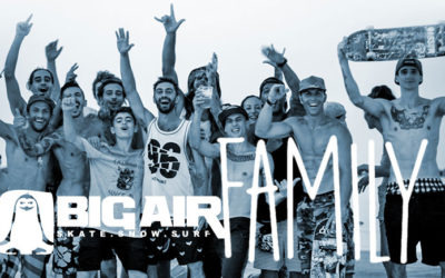 "Big Air Shop.. la ""Family"" di Mario Paolillo"