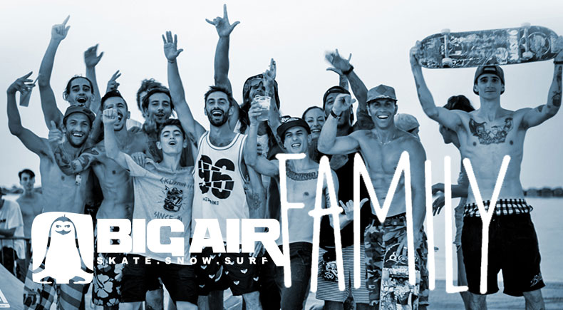 "Deejay Xmasters - Big Air Shop.. la ""Family"" di Mario Paolillo"