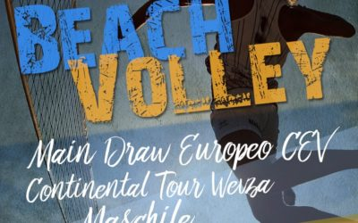 Europeo di Volley sulla spiaggia di velluto