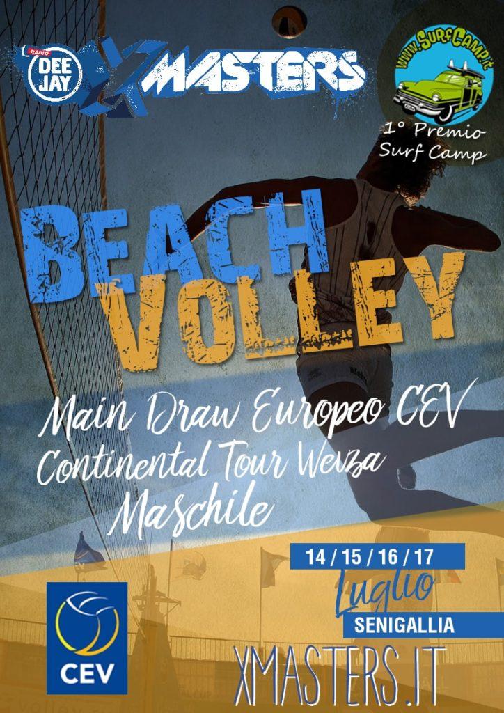Deejay Xmasters - Europeo di Volley sulla spiaggia di velluto