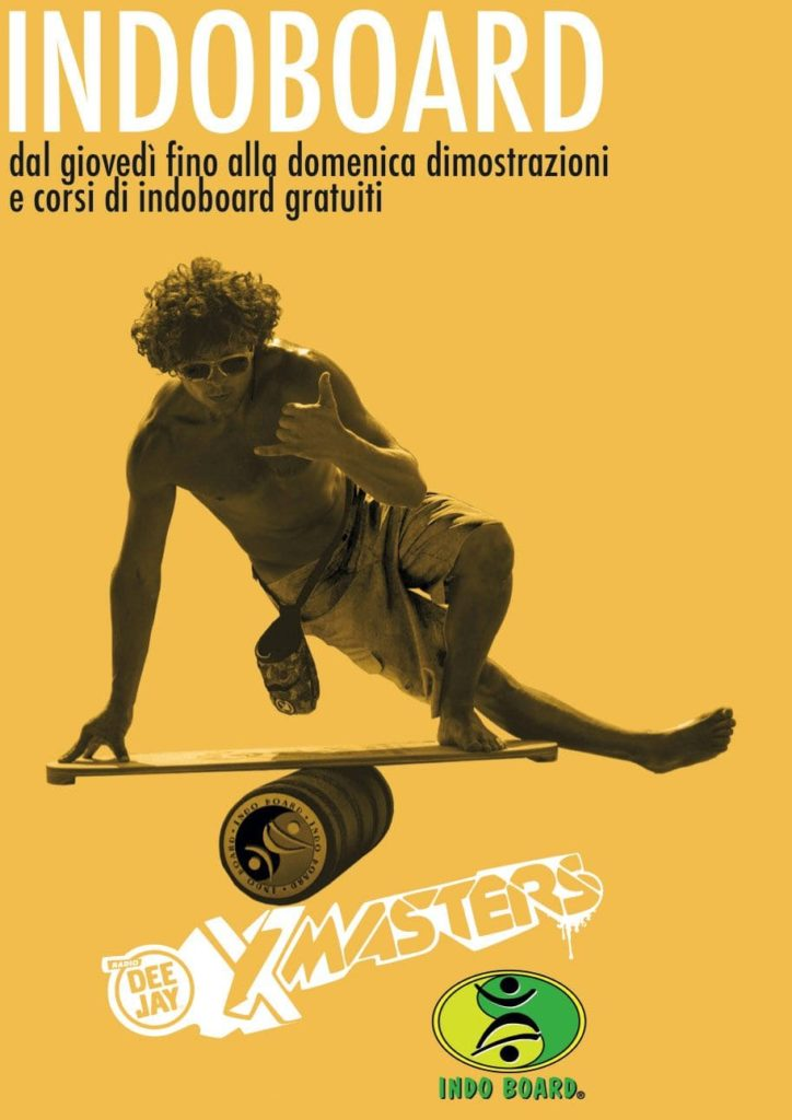 Deejay Xmasters - Indoboard, prove d'equilibrio