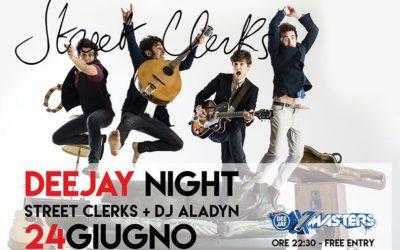 Deejay Night Pescara – Venerdì 24 Giugno Street Clerks + Dj Aladyn + Dj Lato