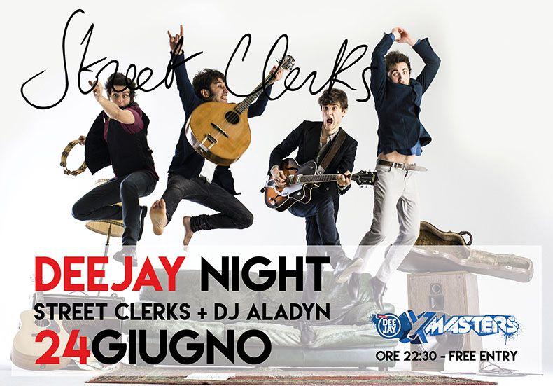 Deejay-Xmasters-Locandina-Deejay-Night-Pescara-24-giugno-Street-Clerks-Dj-Aladyn
