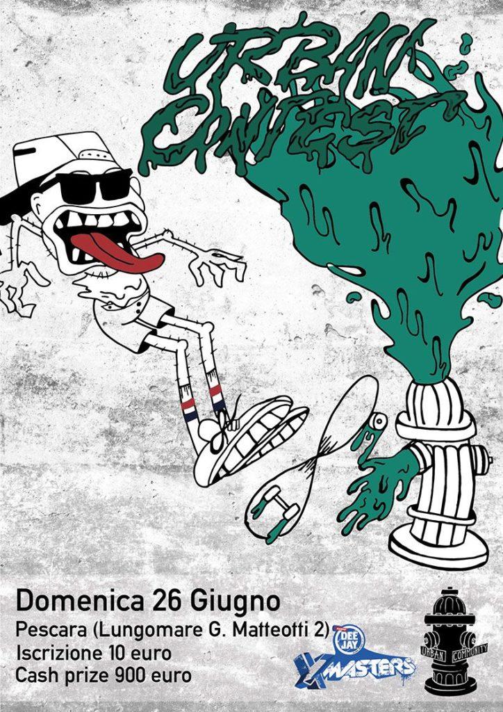 Deejay-Xmasters-Locandina-Urban-Skate-Contest-Pescara