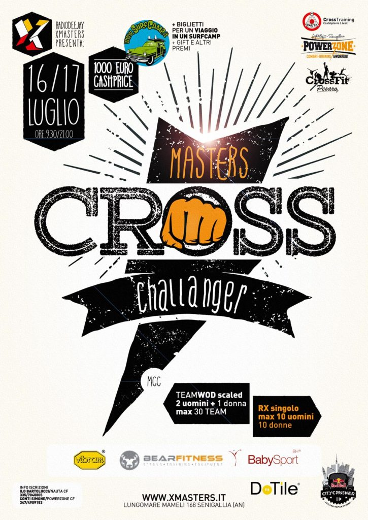 Deejay Xmasters - Masters CROSS Challenger Senigallia