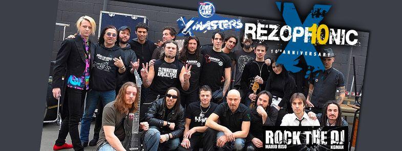 Deejay Xmasters - Rezophonic e Rock the Dj.. un venerdì tutto Rock