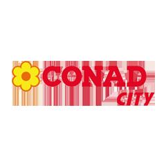 Deejay Xmasters - Sponsor - Locali Convenzionati - Logo Conad City