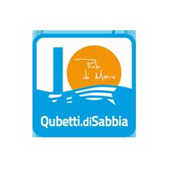 Deejay Xmasters - Sponsor - Locali Convenzionati - Logo Qubetti di sabbia