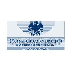 Deejay Xmasters - Sponsor - Partner Tecnici - Logo Confcommercio Marche