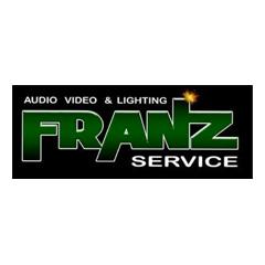 Deejay Xmasters - Sponsor - Partner Tecnici - Logo Franz Service audio