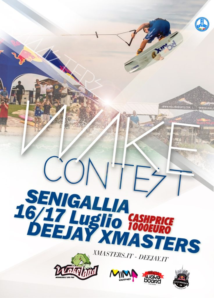 Deejay Xmasters - Wakeboard Contest Senigallia 2016