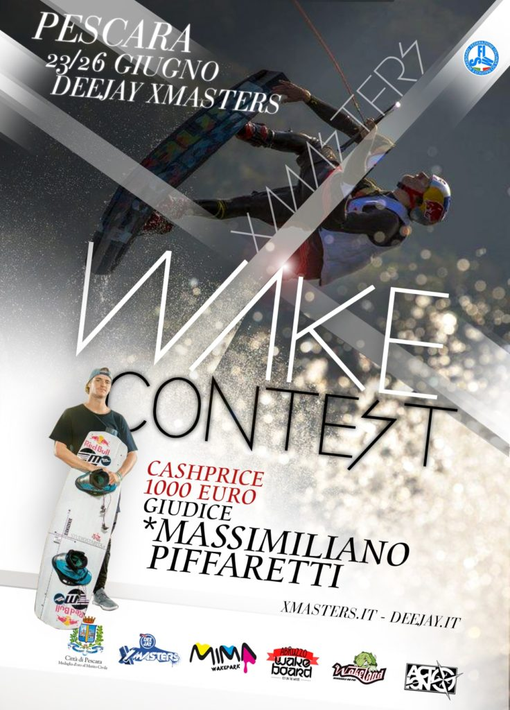 Deejay Xmasters - Wakeboard contest pescara 2016