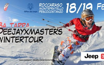Deejay Xmasters si sposta sugli Appennini – Venerdì 17, Sabato 18 e Domenica 19 Febbraio