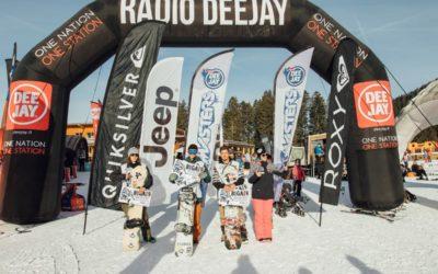 Vlad Khadarin vince il primo DEEJAY Xmasters Big Air Contest, prossimo appuntamento il 5 febbraio a Livigno