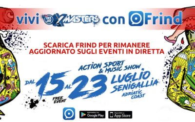 Frind Find your friends – Scopri Frind e vieni a DEEJAY Xmasters