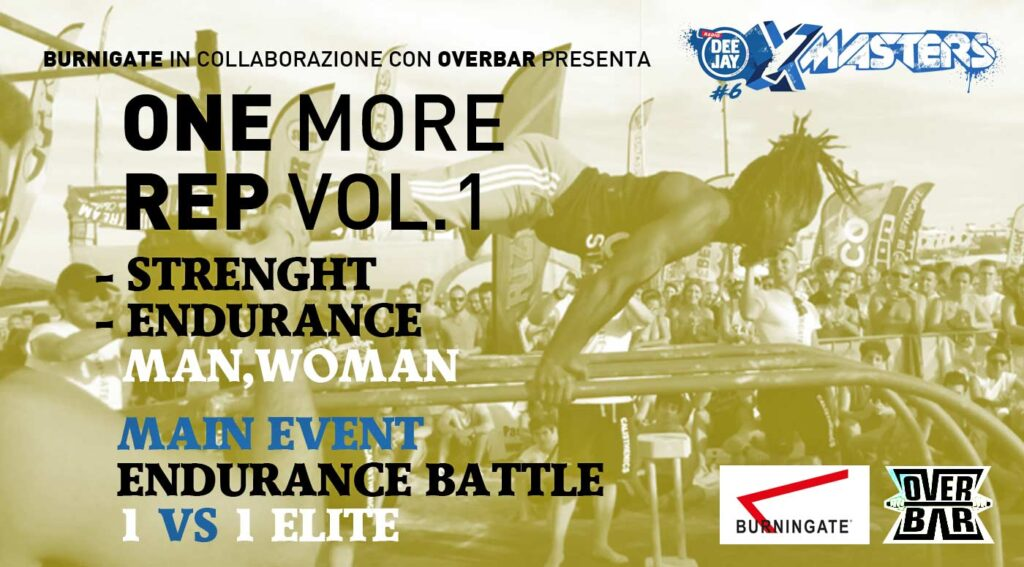 Deejay Xmasters - One more rep vol 1 - Burningate