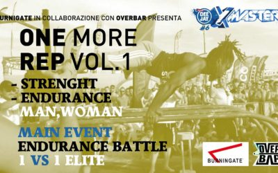 Burningate in collaborazione con Overbar presentano: One More Rep vol 1