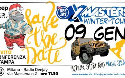 Torna il DEEJAY Xmasters Winter Tour