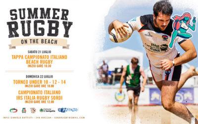 Ai DEEJAY Xmasters il primo campionato di Beach Rugby per sordi