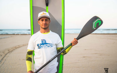 Thomas Amaduzzi pronto per la traversata Croazia-Italia in SUP
