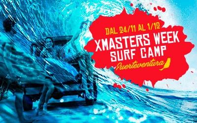 DEEJAY Xmasters per il Surf Camp a Fuerteventura