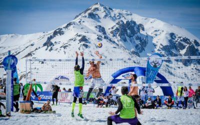 DEEJAY Xmasters a Moena con la Mizuno Snow Volley Marathon