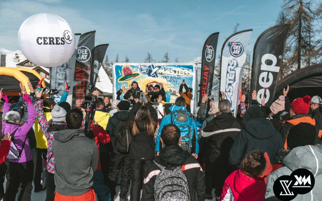 Ancora un successo a Pila per il DEEJAY Xmasters Winter Tour