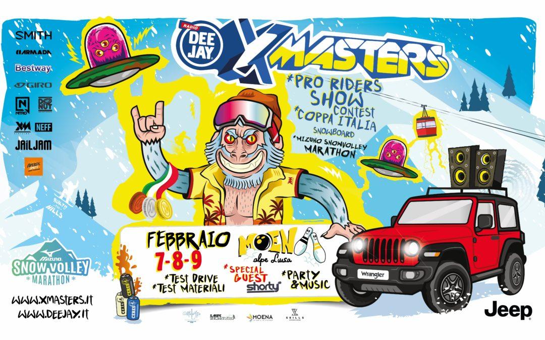 DEEJAY Xmasters: al via la tappa di Moena DEEJAY Xmasters